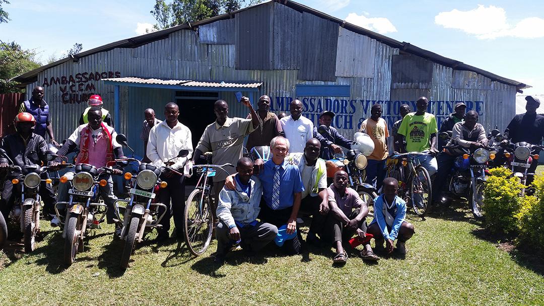 Ambassadors motorcycle evangelism rally