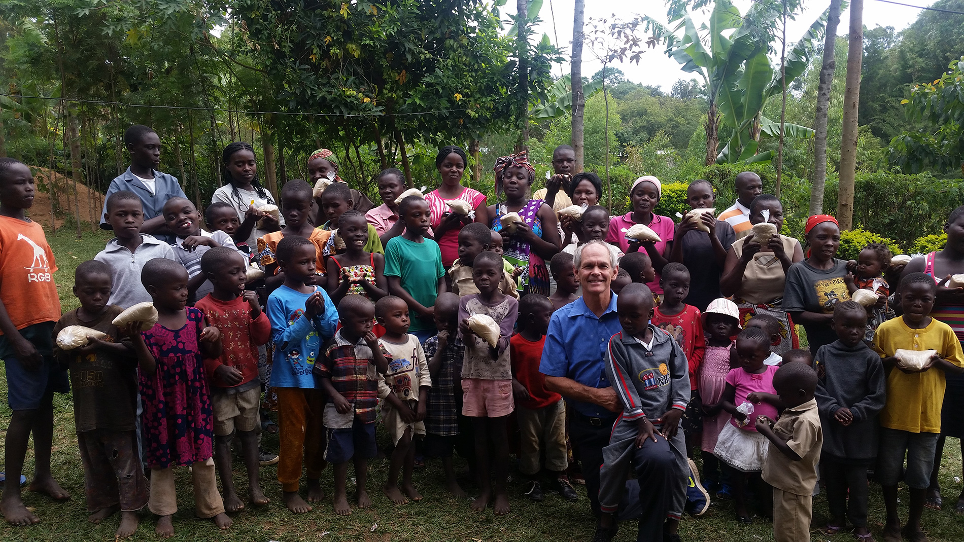 Mercy ministry to Ebwambwa Church